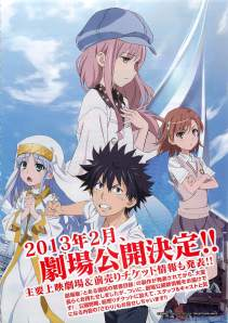 Toaru Majutsu no Index: The Miracle of Endymion Anime Film Poster