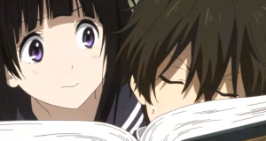 Hyouka Reading Images