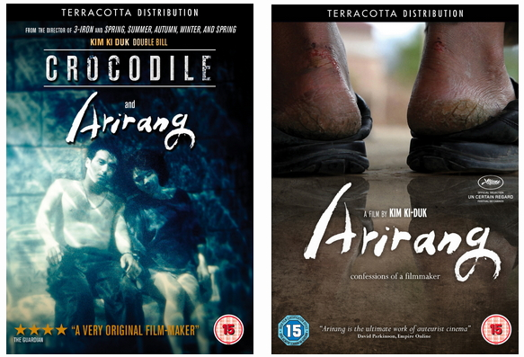 Crocodile and Arirang DVD Cases