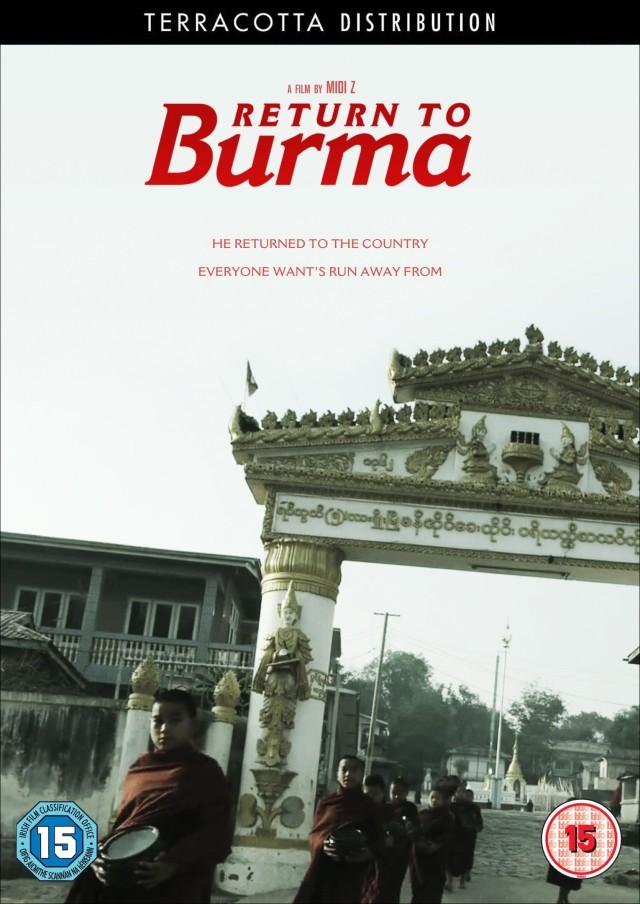 Return to Burma DVD Case