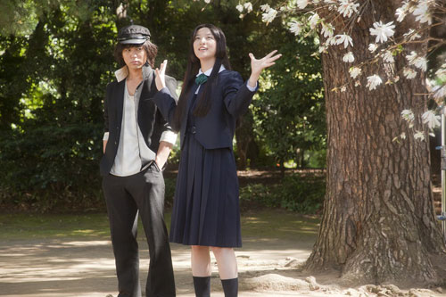 Ai to Makoto Love is in the Air Makoto (Tsumabuki) and Ai (Takei)
