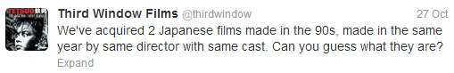 Third Window Films Twitter