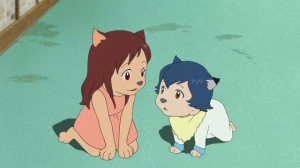 Wolf Children Transform