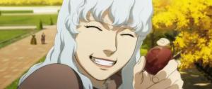 Berserk Anime Movie Griffith Grins