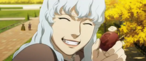 Berserk Anime Movie Griffith Grins