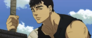 Berserk Anime Movie Guts Talking