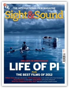 Sight and Sound Magazine January 2013