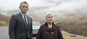 Skyfall Bond (Craig) and M (Dench)