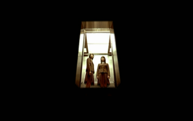 The Voice Sun-Min (Seo Ji-Hye) and Eun-Young (Kim Ok-Vin) In the Elevator of Death