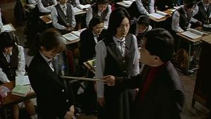 Whispering Corridors Ji-Oh (GyuRi Kim) Faces Off Against Mr Oh (Park Yong-Soo)