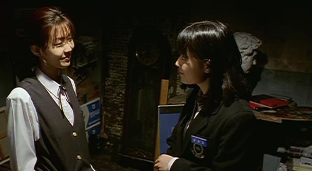 Whispering Corridors New Friends Jae-Yi (Choi Se-Yeon) and Ji-Oh (Kim Gyu-Ri)