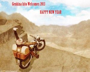Genki Jason Welcomes 2013 Banner