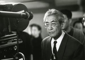 Nagisa Oshima on Set