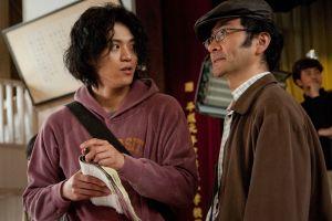 The Woodsman & the Rain Koichi (Oguri) and Torii (Furutachi) Talk