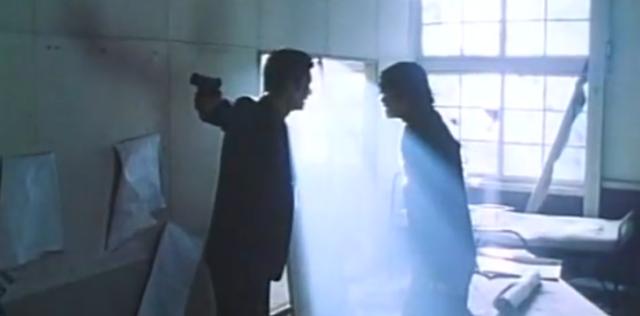 Atsuro Watabe as Reiji and Kazuma Suzuki as Goto who are arguing in Heat After Dark