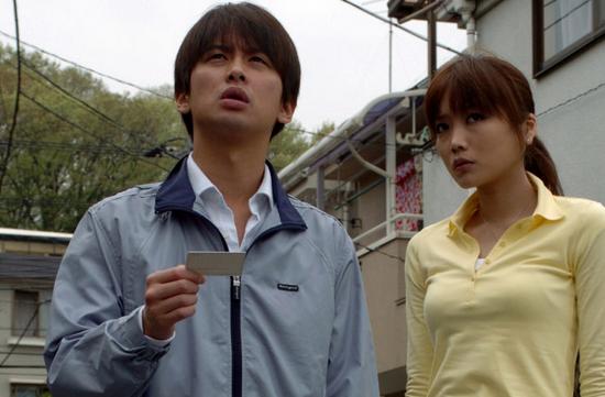 Carved Matsuzaki (Kato) and Kyoko (Eriko Sato)