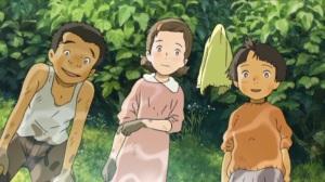 Mai Mai Miracle Kiiko (Nako Mizusawa) and Shinko (Mayuko Fukuda) at Play