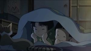 Mai Mai Miracle Shinko (Mayuko Fukuda) and Her Sister Mitsuko (Tamaki Matsumoto)