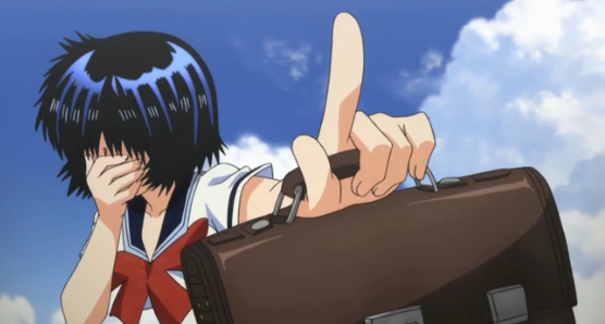Mikoto in Mysterious Girlfriend X