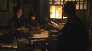 The Twilight Samurai Seibei (Sanada) and His Girls