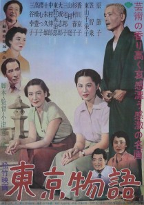 Tokyo Story Film Poster