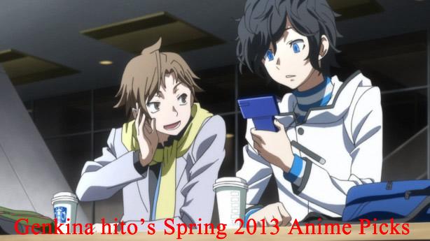 Genki Jason Spring 2013 Anime Picks