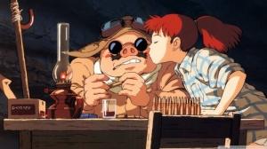 Porco Rosso Kiss