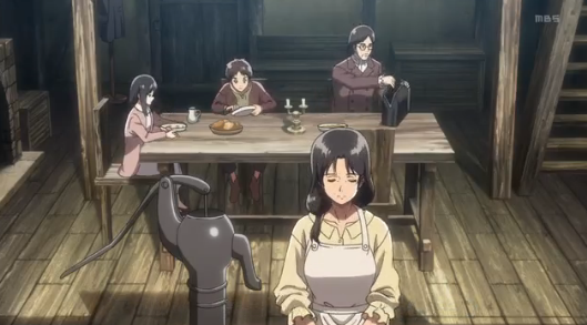 Attack on Titan Family Dinner