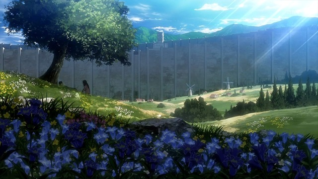 attack on titan flowers