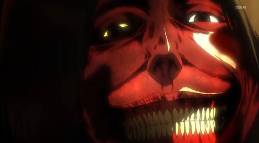 Attack on Titan Malicious Grin