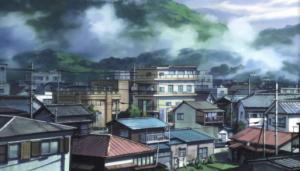 Aku no Hana Kasugas Town