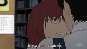 Aku no Hana Nakamura And Kasuga Form a Contract