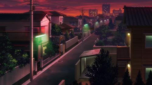 Hataraku Maou-Sama Tokyo twilight