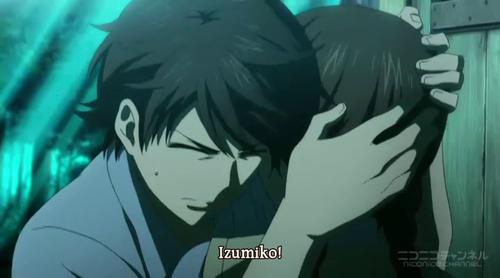 Red Data Girl Miyuki Holds Izumiko
