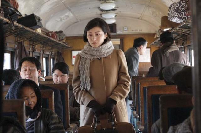 Zero Focus Sadako (Hirosue) Takes the Train
