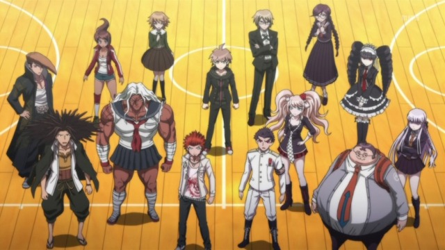 Danganronpa Cast in Anime