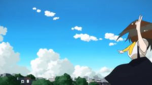 Gatchaman Crowds Blue Skies Forever
