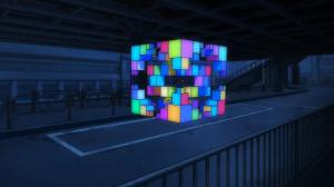 Gatchaman Crowds MESS Rubik Cube 2