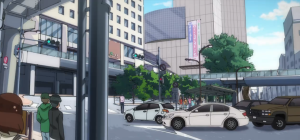 Gatchaman Crowds Tachikawa City