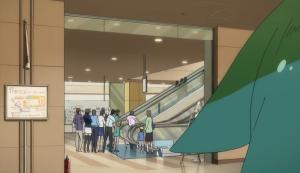 Gatchaman Crowds Underground Mall