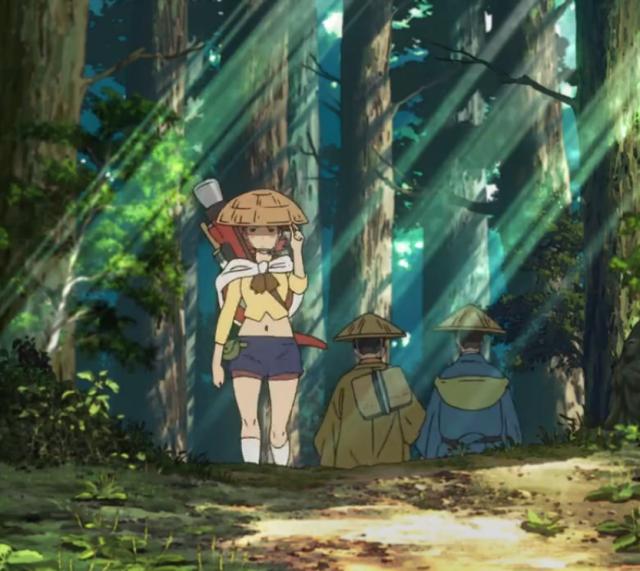 Fuse A Gun Girls Detective Story Hamaji Heads to Edo