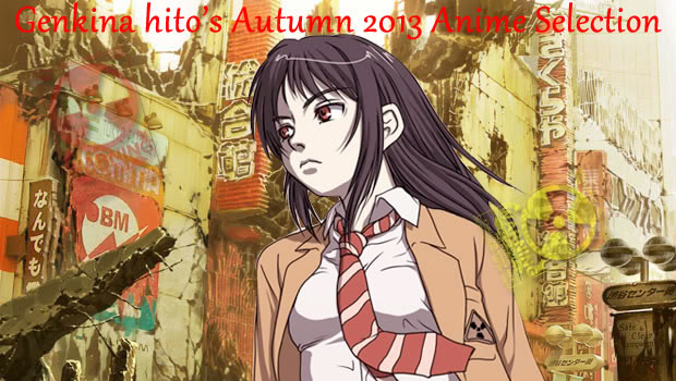 Genki Autumn 2013 Anime Selection Banner