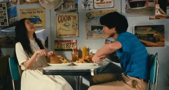 The Story of Yonosuke Shoko (Yoshitaka) and Yonosuke (Kora) Eat Burgers