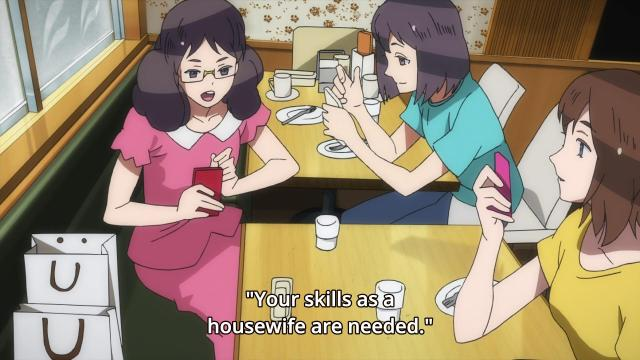 Gatchaman Crowds Housewife
