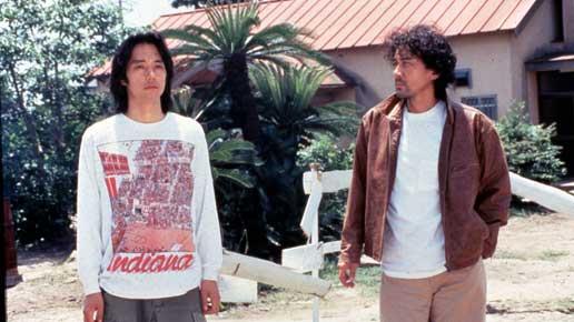 License to Live Yutaka (Nishijima) and Fujimori (Yakusho)