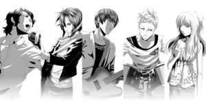 Precious Stone Manga Characters