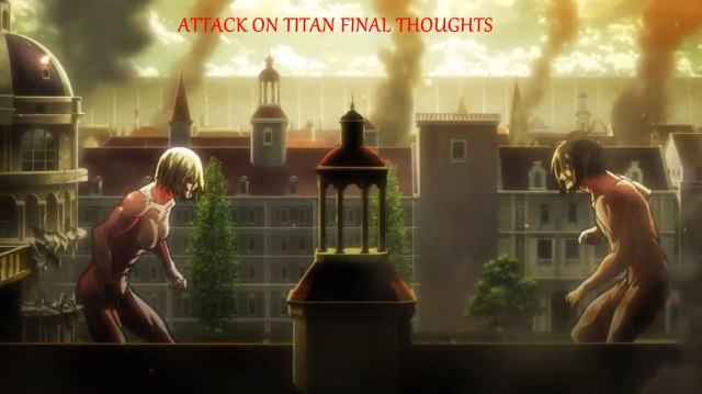 Genki Attack on Titan Final Thoughts Banner
