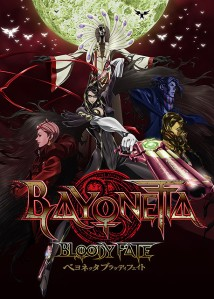 Bayonetta Bloody Fate Film Poster