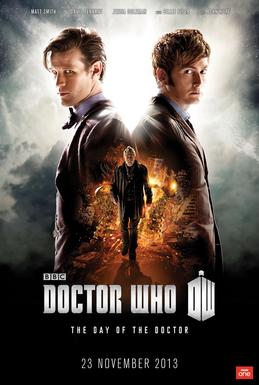 Doctor who 50th Episode Poster