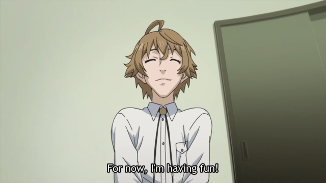 Samurai Flamenco Having Fun
